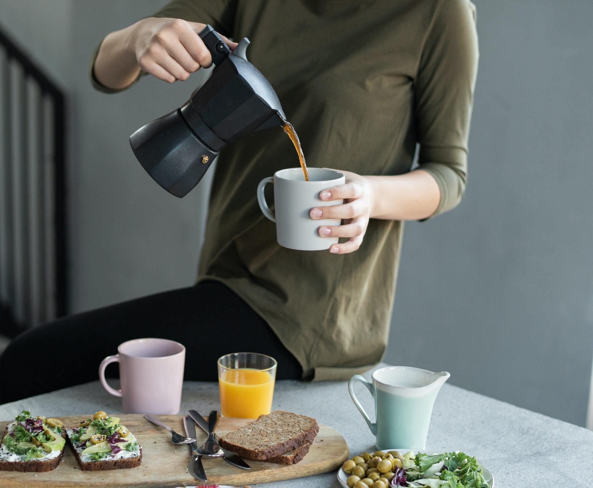 Hygiène nutritionnelle, diététique et café